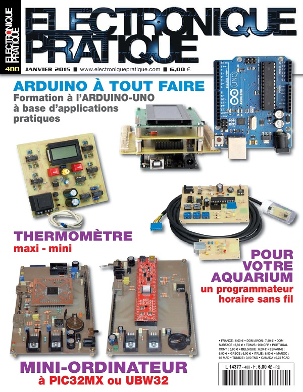 Electronique Pratique N°400 – Arduino À Tout Faire