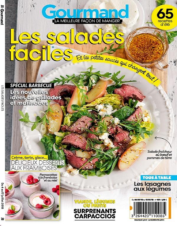 Gourmand N°401 Du 4 Juillet 2018