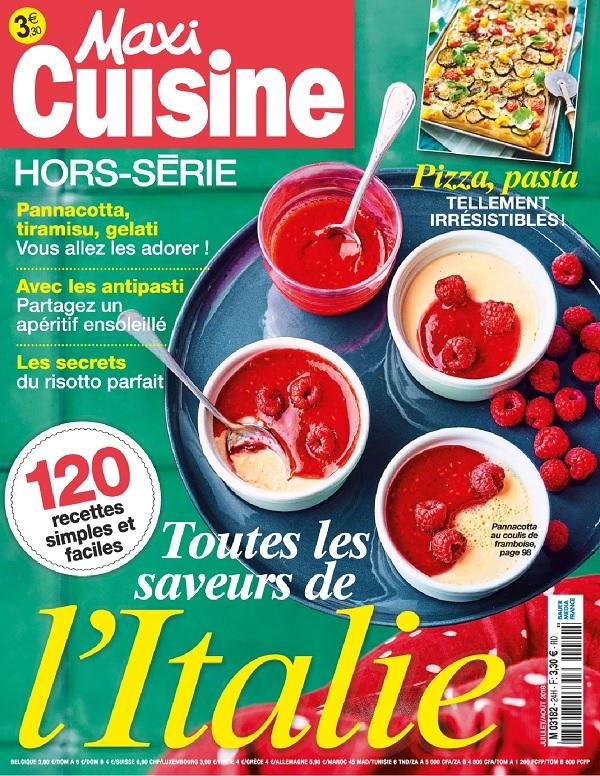 Maxi Cuisine Hors Série N°24 – Juillet-Août 2018