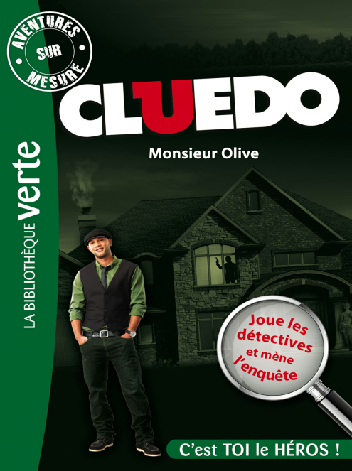 Michel Leydier – Aventures sur Mesure – Cluedo 03, Monsieur Olive