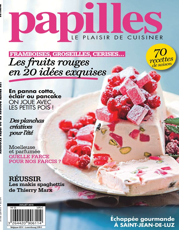 Papilles N°33 – Les Fruits Rouges