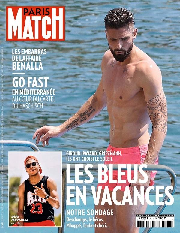 Paris Match N°3611 Du 26 Juillet 2018
