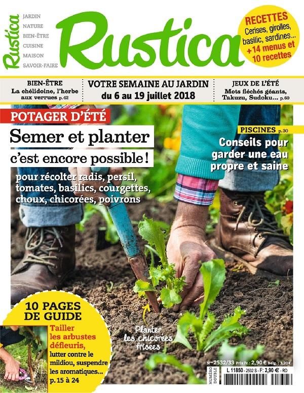 Rustica N°2532 Du 6 Juillet 2018
