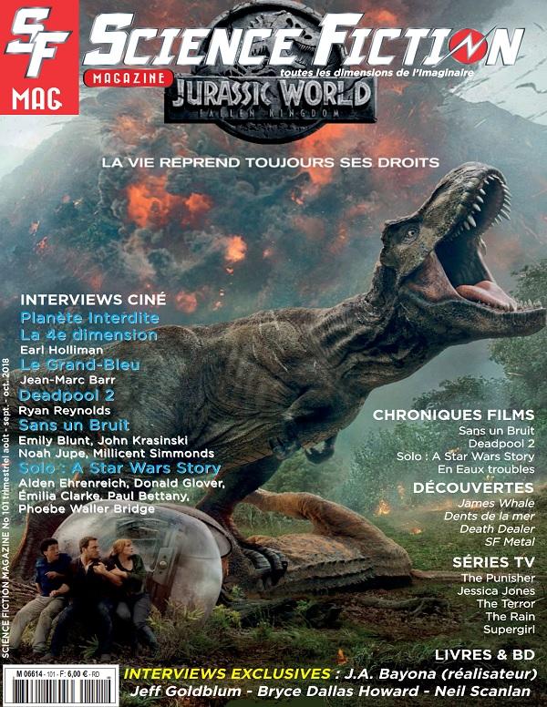 Science Fiction Magazine N°101 – Août 2018