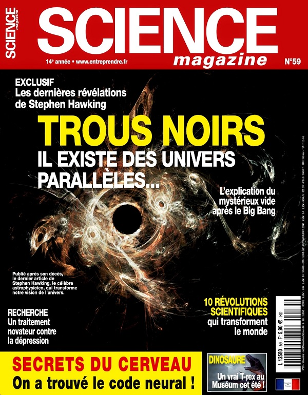 Science Magazine N°59 – Août-Octobre 2018