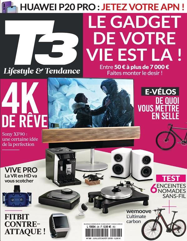 T3 Gadget Magazine N°28 - Juillet-Août 2018