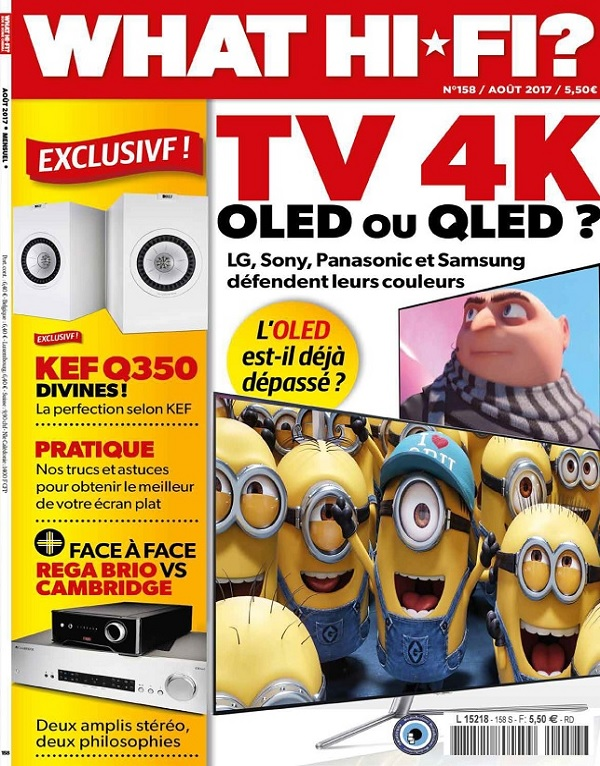 What Hi-Fi N°158 – TV4K OLED ou QLED ?