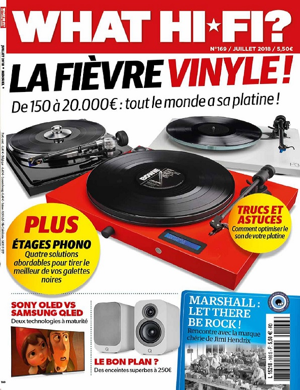 What Hi-Fi N°169 – Juillet 2018