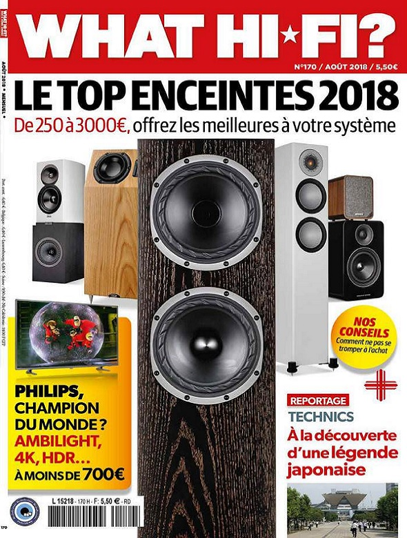 What Hi-Fi N°170 – Août 2018