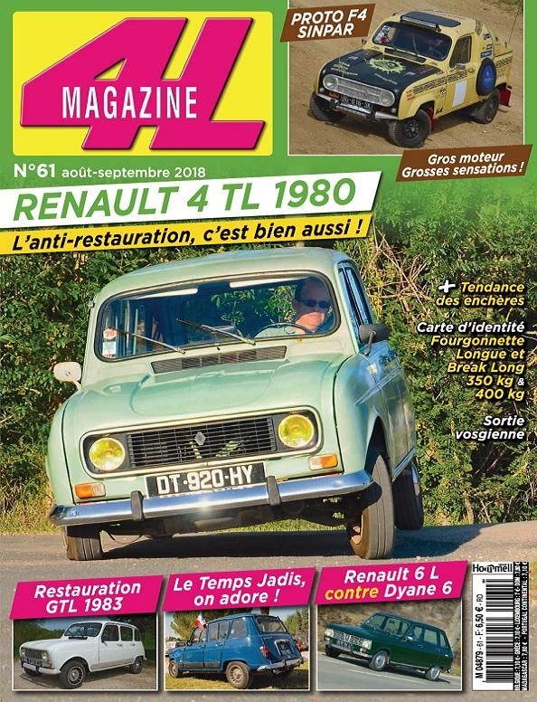 4L Magazine N°61 – Août-Septembre 2018