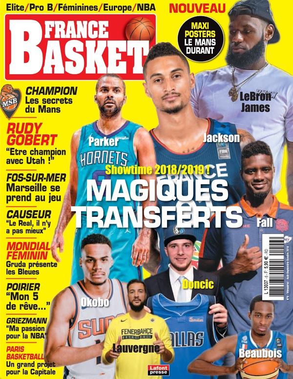 France Basket N°6 – Août-Octobre 2018