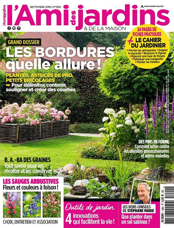 L'Ami Des Jardins N°1094 – Septembre 2018