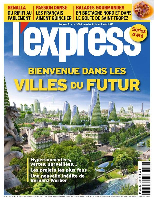 L'Express N°3500 Du 1er au 7 Août 2018