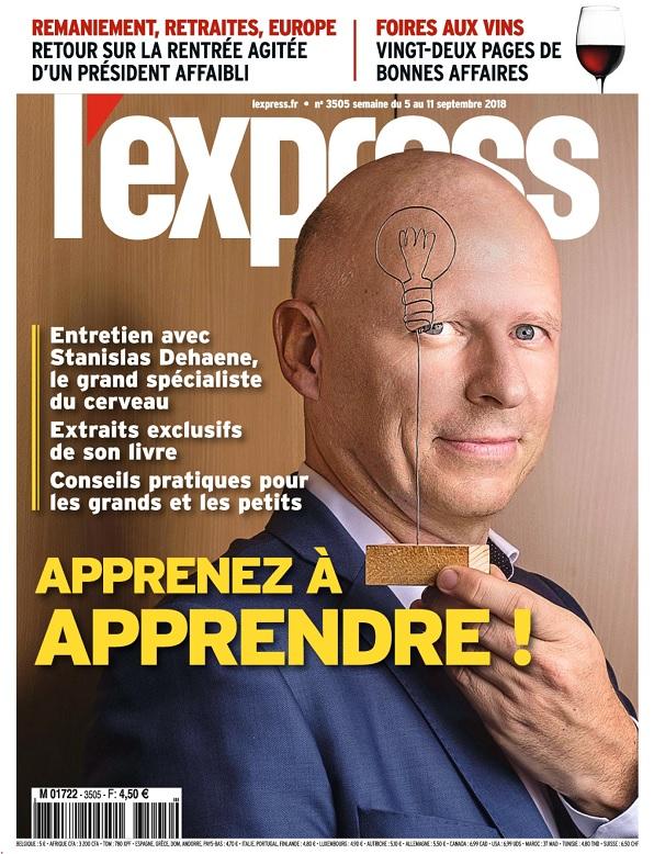 L'Express N°3505 Du 5 Septembre 2018