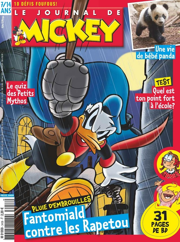 Le Journal De Mickey N°3458 Du 26 Septembre 2018