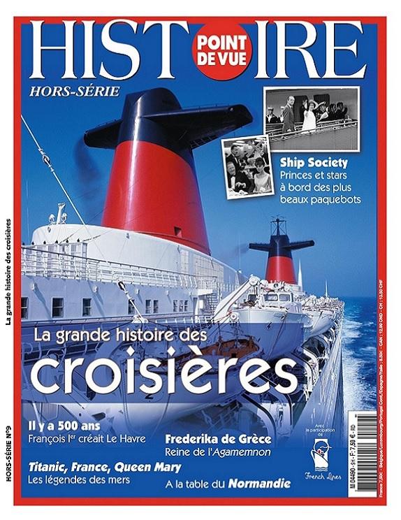Point De Vue Histoire Hors Série N°9 – La Grande Histoire Des Croisières