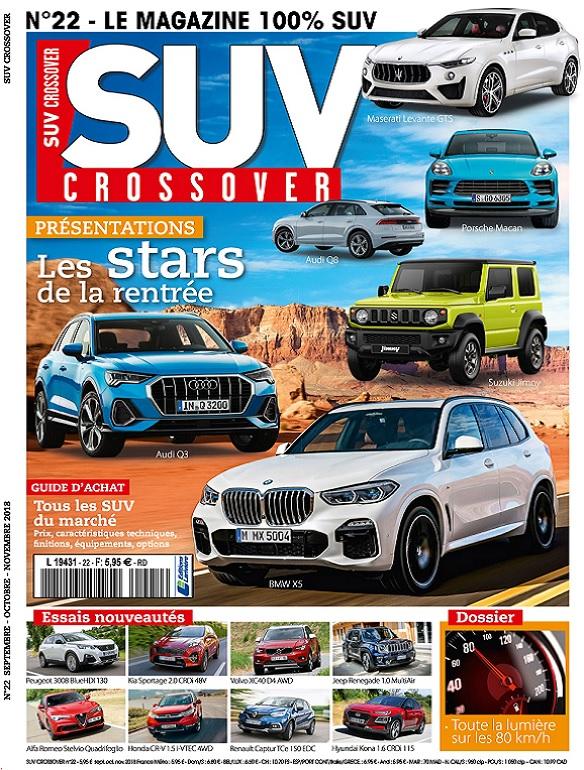 Suv Crossover N°22 – Septembre-Novembre 2018