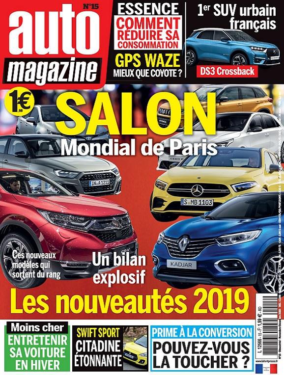 Auto Magazine N°15 – Novembre-Décembre 2018