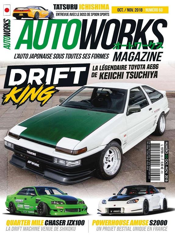 AutoWorks Magazine N°60 – Octobre-Novembre 2018
