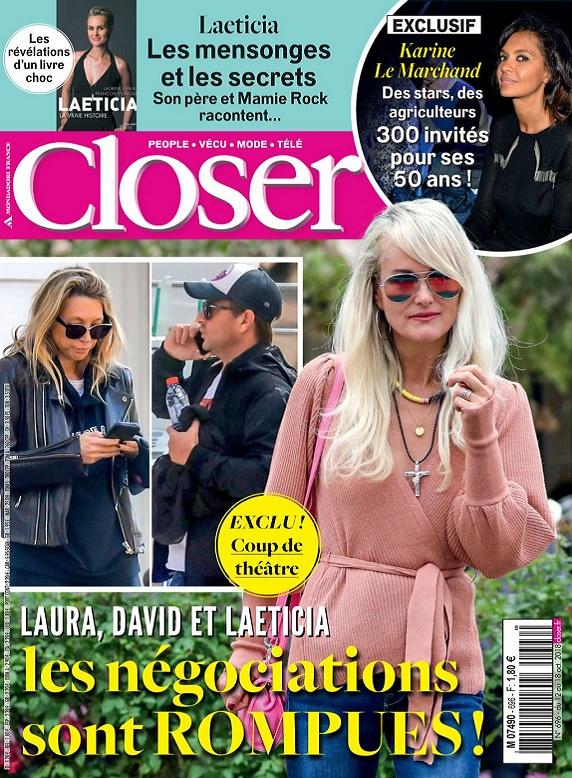 Closer N°696 Du 12 au 18 Octobre 2018