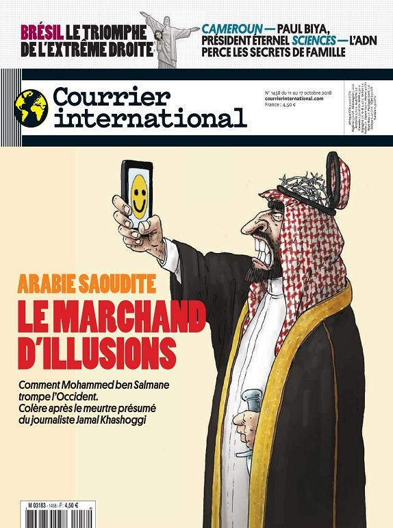 Courrier International N°1458 Du 11 au 17 Octobre 2018