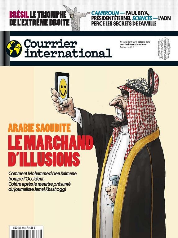 Courrier International N°1458 Du 11 au 17 Octobre 2018