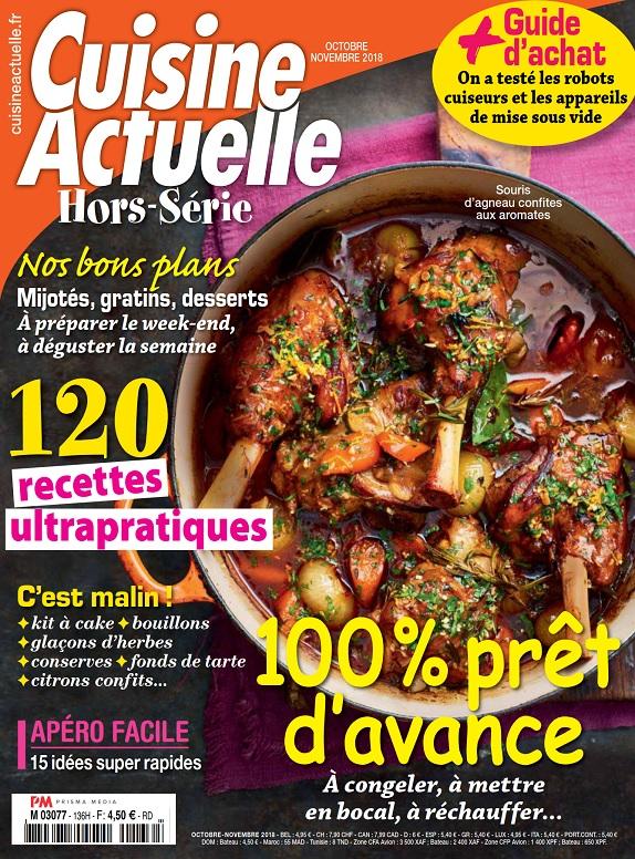 Cuisine Actuelle Hors Série N°136 – Octobre-Novembre 2018