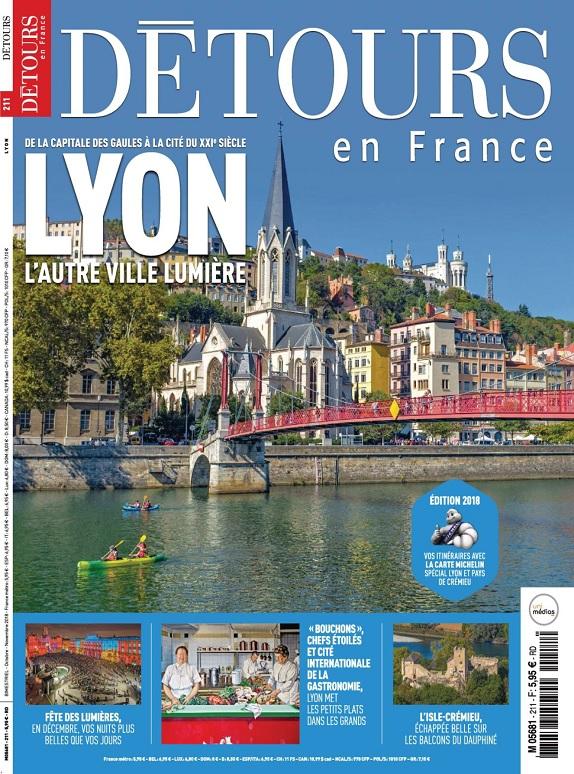 Détours En France N°211 – Octobre-Novembre 2018