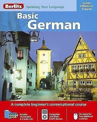 Harrap's Michel Thomas : German Basic – 8 CDs