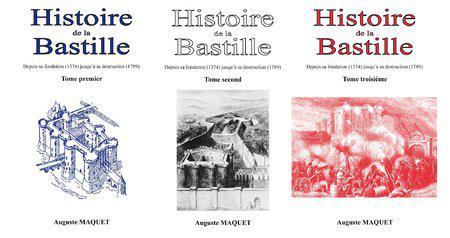 Histoire de La Bastille – 03 Tomes – Auguste Maquet