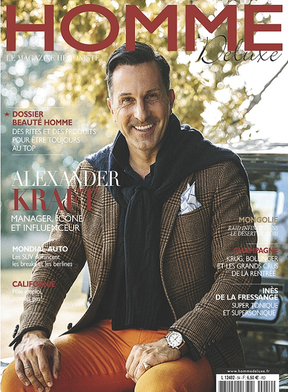 Homme Deluxe N°54 – Novembre 2018
