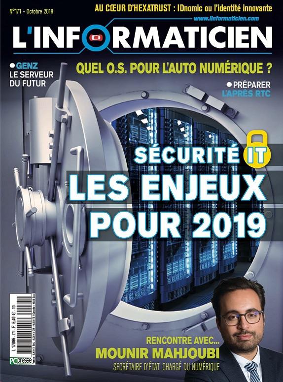 L'Informaticien N°171 – Octobre 2018