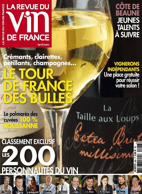 La Revue Du Vin De France N°626 – Novembre 2018
