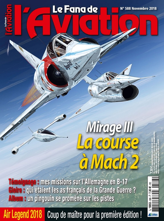 Le Fana De L'Aviation N°588 – Novembre 2018