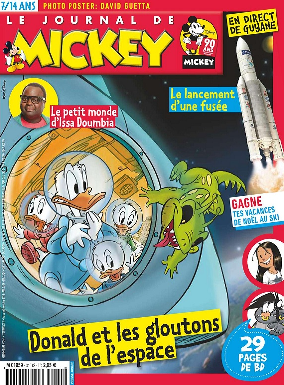 Le Journal De Mickey N°3461 Du 17 Octobre 2018