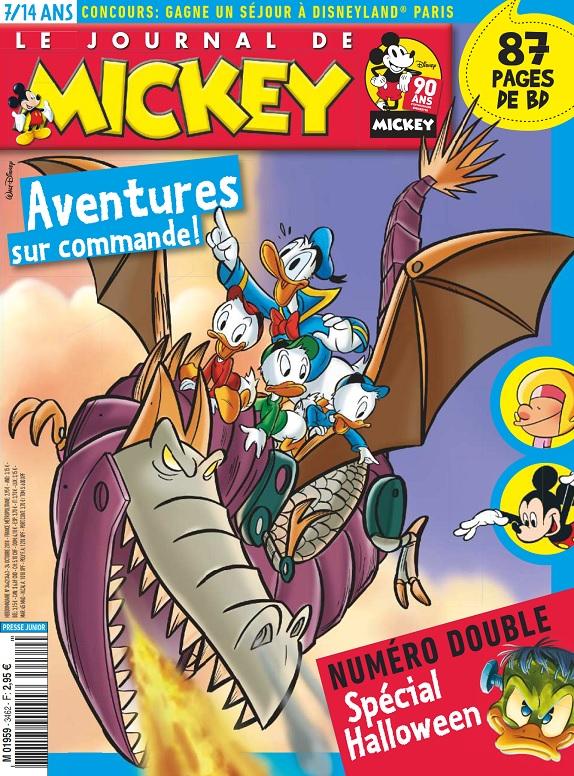 Le Journal De Mickey N°3462 Du 24 Octobre 2018