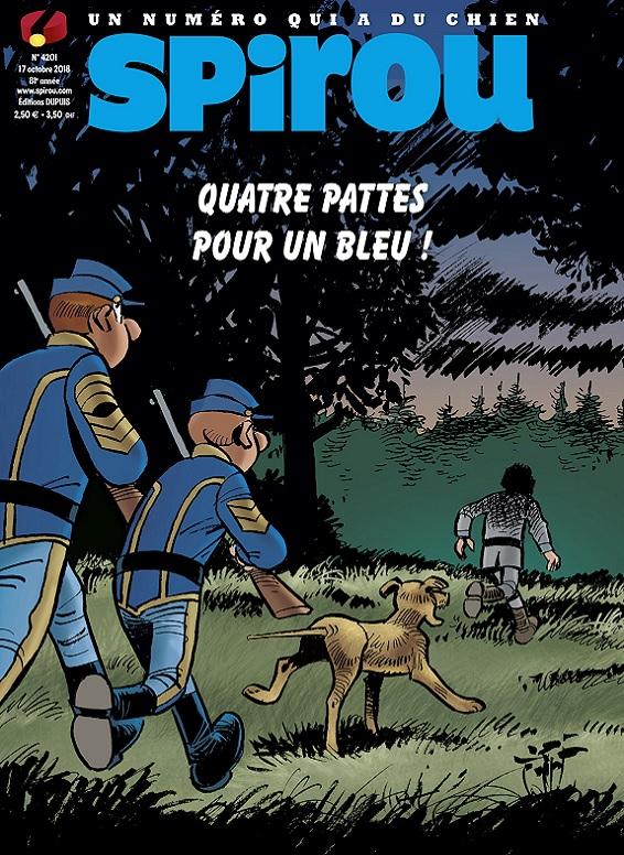 Le Journal De Spirou N°4201 Du 17 Octobre 2018