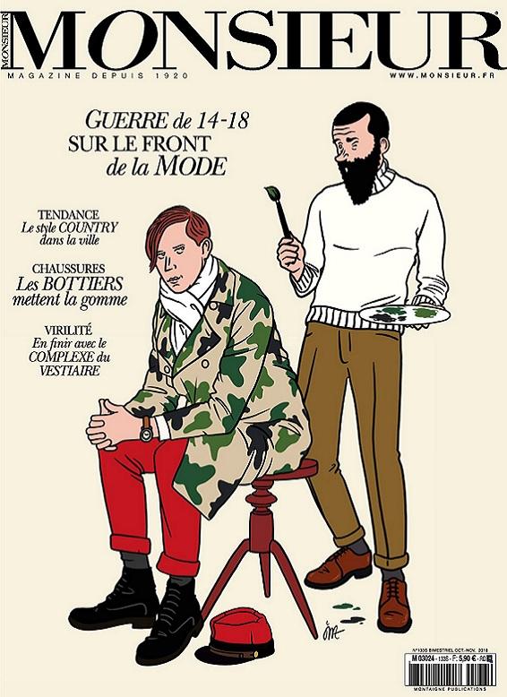 Monsieur Magazine N°133 – Octobre-Novembre 2018