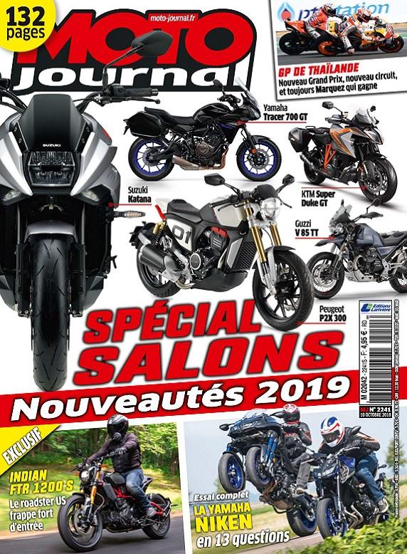 Moto Journal N°2241 Du 10 Octobre 2018