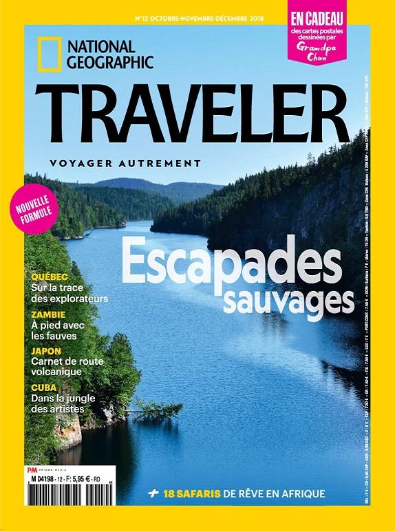 National Geographic Traveler N°12 – Octobre-Décembre 2018