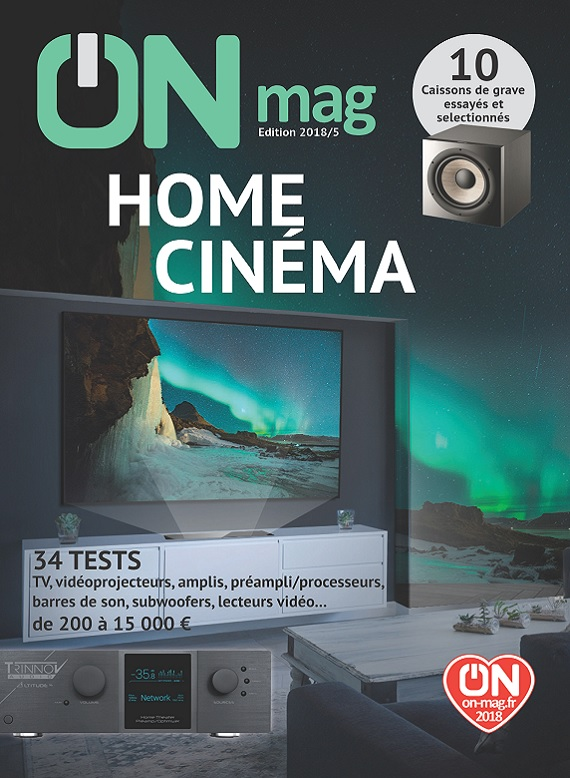 ON Magazine – Guide Home Cinéma 2018