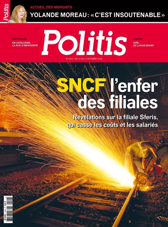 Politis N°1522 Du 11 Octobre 2018