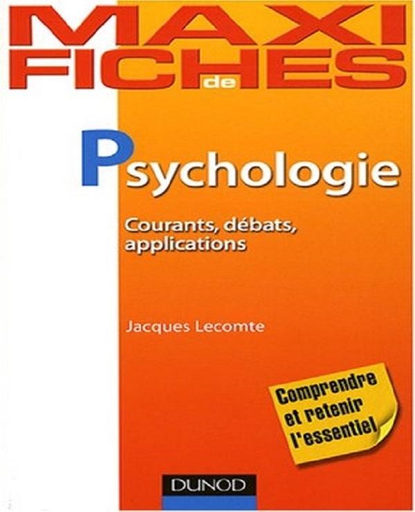 Maxi fiches de psychologie