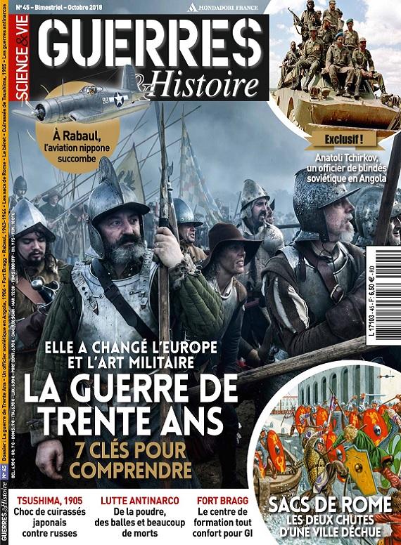 Science et Vie Guerres et Histoire N°45 – Octobre 2018