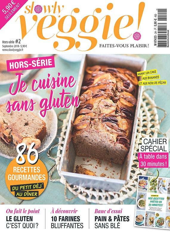 Slowly Veggie Hors Série N°2 – Septembre 2018