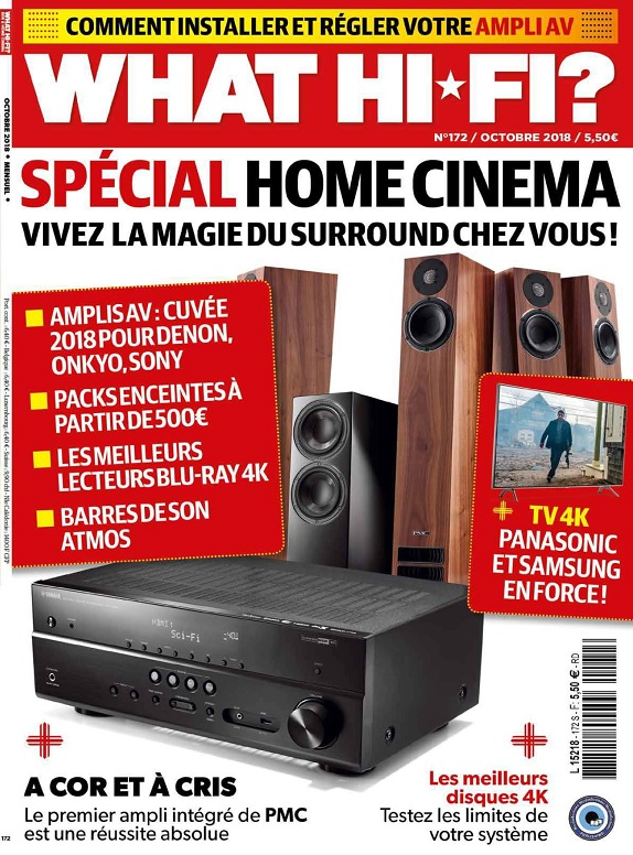 What Hi-Fi N°172 – Octobre 2018