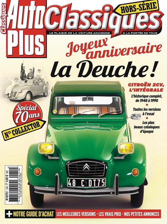 Auto Plus Classiques Hors Série N°14 – Novembre 2018