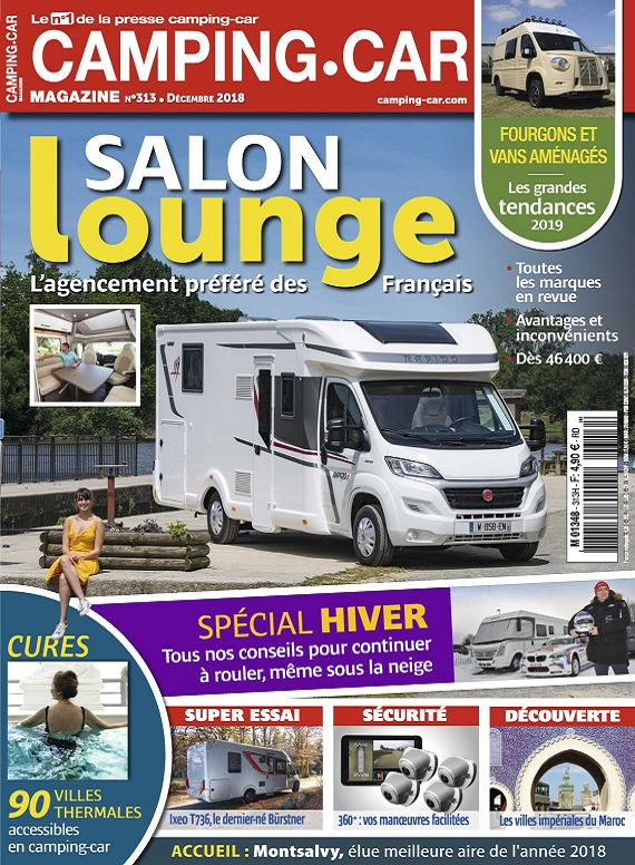 Camping-Car Magazine N°313 – Décembre 2018