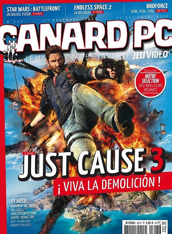 Canard PC N°327 – Just Cause 3
