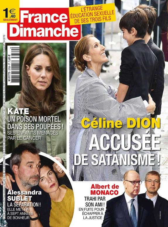 France Dimanche N°3769 Du 23 au 29 Novembre 2018